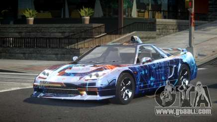 Honda NSX-R Qz S6 for GTA 4