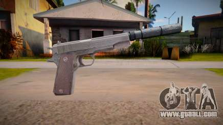 Colt M1911 with silenced for GTA San Andreas