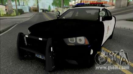 Dodge Charger 2012 LAPD for GTA San Andreas