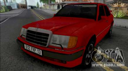 Mercedes-Benz W124 from Taxi Movie for GTA San Andreas