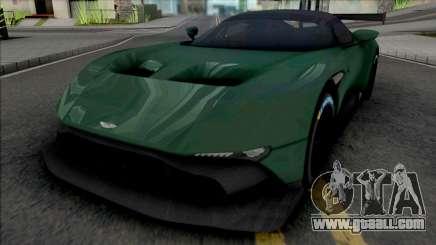 Aston Martin Vulcan 2016 (Real Racing 3) for GTA San Andreas