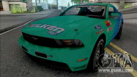 Ford Mustang GT 2010 Formula Drift Falken Tire for GTA San Andreas