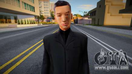 Woozie In Without Glasses Skin for GTA San Andreas