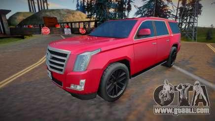 2019 Cadillac Escalade ESV for GTA San Andreas