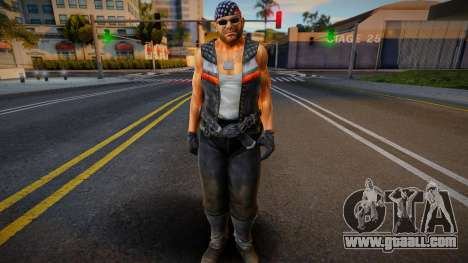 Dead Or Alive 5 - Bass Armstrong (Costume 1) 1 for GTA San Andreas