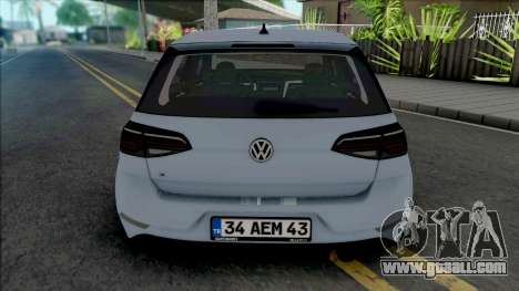 Volkswagen Golf 7.5 R-Line for GTA San Andreas