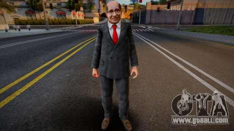 Dead Or Alive 5 - Train Man 2 for GTA San Andreas