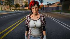 Dead Or Alive 5 - Mila (Costume 2) 4 for GTA San Andreas