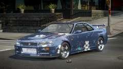 Nissan Skyline R34 J-Style S10 for GTA 4
