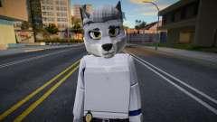 Roblox Detective Wolf (JohnnySilverPaw) for GTA San Andreas
