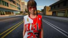 Hitomi Fashion Casual Chicago Bulls Jersey 2 for GTA San Andreas