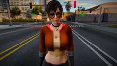 Sexy girl from DOA 11 for GTA San Andreas