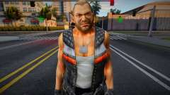 Dead Or Alive 5 - Bass Armstrong (Costume 1) 4 for GTA San Andreas