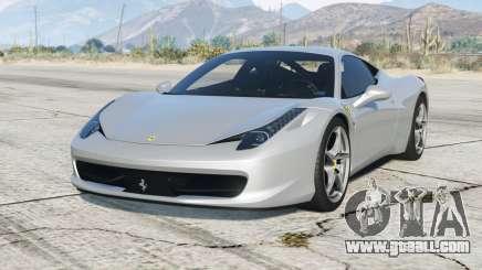 Ferrari 458 Italia 2010〡add-on v1.1 for GTA 5