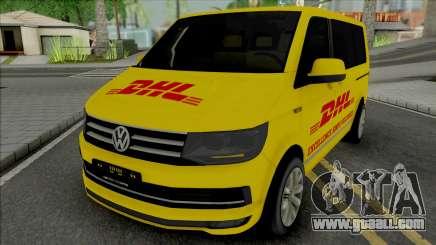 Volkswagen Transporter T6 DHL for GTA San Andreas