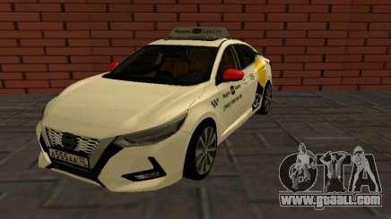 Nissan Sylphy Yandex Go Taxi for GTA San Andreas