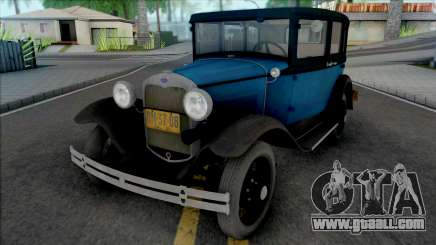 Ford Model A Standard Fordor 1930 [IVF] for GTA San Andreas