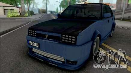 Tofas Dogan X for GTA San Andreas