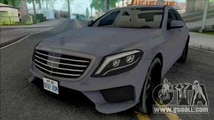 Mercedes-Benz S63 AMG 2014 Japan SA Style for GTA San Andreas