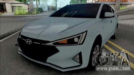 Hyundai Elantra 2019 for GTA San Andreas