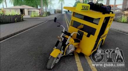 Mototaxi for GTA San Andreas