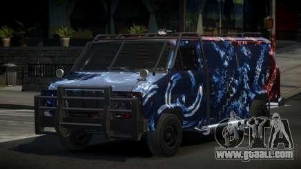 Chevrolet Van Custom S7 for GTA 4