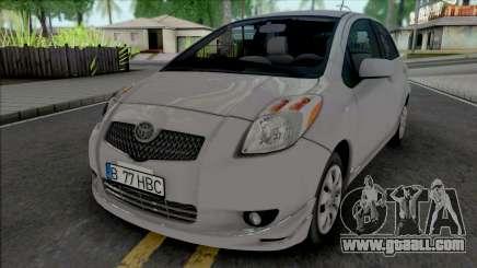 Toyota Yaris [IVF] for GTA San Andreas