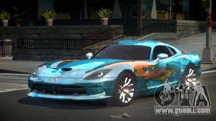Dodge Viper SRT US S1 for GTA 4