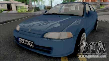 Honda Civic 1.6 Si for GTA San Andreas