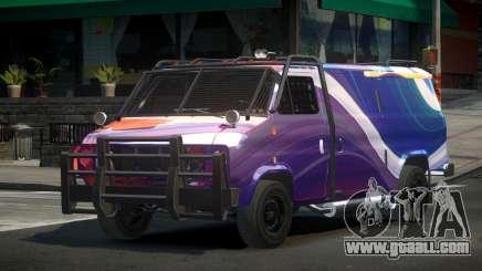 Chevrolet Van Custom S6 for GTA 4