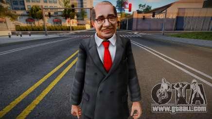 Dead Or Alive 5 - Train Man 1 for GTA San Andreas
