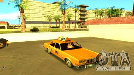 Dodge Diplomat 1987 Taxi for GTA San Andreas