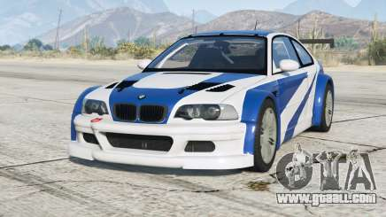 BMW M3 GTR (E46) Most Wanted v2.2b for GTA 5