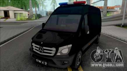 Mercedes-Benz Sprinter 2014 SWAT for GTA San Andreas