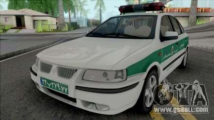Ikco Samand Police for GTA San Andreas