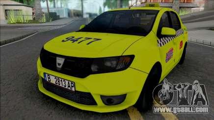 Dacia Logan 2013 Taxi for GTA San Andreas