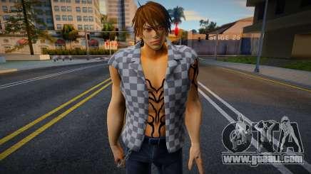 Shin Casual Tekken (Bad Boy 3) for GTA San Andreas