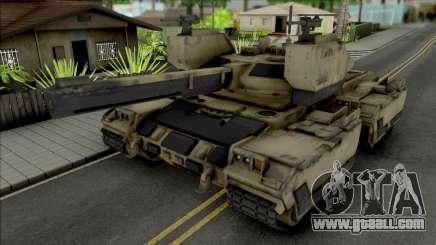 FT101 Main Battle Tank for GTA San Andreas