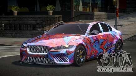 Jaguar XE Qz S2 for GTA 4