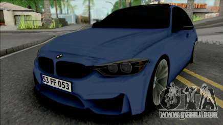 BMW 3-er F30 M Sport for GTA San Andreas