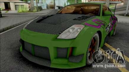 Nissan 350Z Rachel (NFS Underground 2) for GTA San Andreas