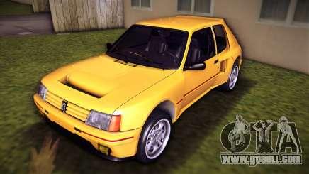 Peugeot 205 Turbo 16 1984 for GTA Vice City