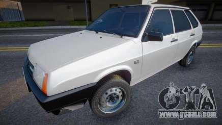 VAZ 2109 (White) for GTA San Andreas