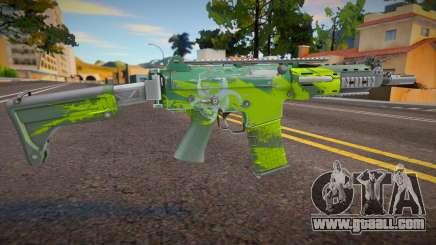 AK5 Biohazard for GTA San Andreas