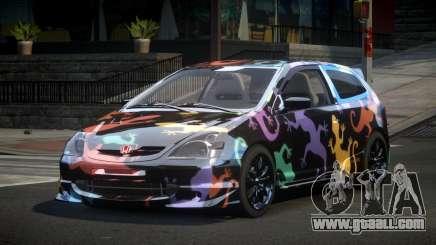 Honda Civic BS-U S7 for GTA 4