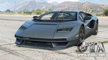 Lamborghini Countach LPI 800-4 2021〡add-on v1.2 for GTA 5