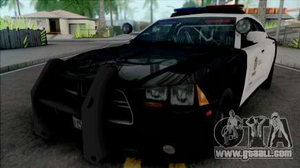 Dodge Charger SRT 2013 LAPD for GTA San Andreas