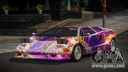 Lamborghini Countach 25th S3 for GTA 4