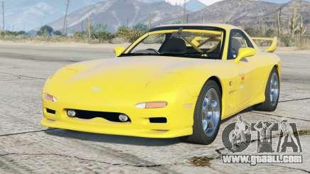Mazda Ẽfini RX-7 Type R (FD3S) Initial D〡add-on for GTA 5