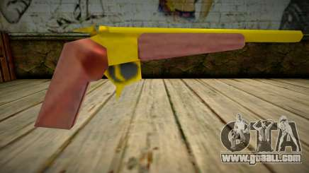 Thompson Contender (Gold) for GTA San Andreas